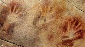 hand prints from altamira